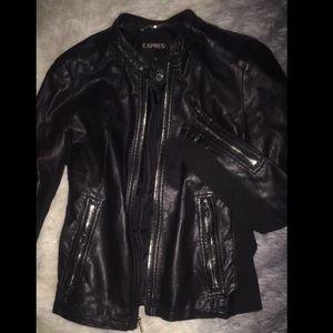 Leather jacket, fits small/medium